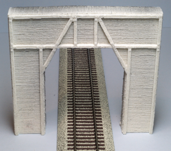 Sidetracks Pre Size 502 Single Concrete Tunnel Portal